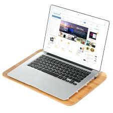 contemporary design 130 samdi bamboo laptop desktop tray lap desk universal cooling stand desktop reading board