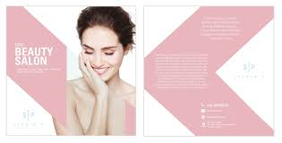Feminine Upmarket Beauty Salon Flyer Design For Studio P