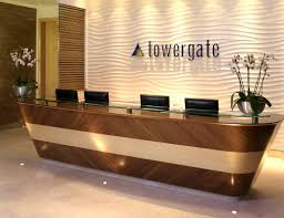office reception counters. Reception Chairs #12 Furniture: Modern Desk Decor Ideas With Recessed Office Counters P