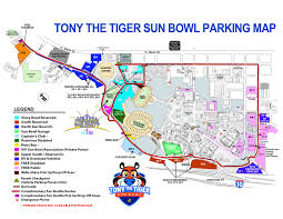 Sun Bowl Game Gameday Info Tony The Tiger Sun Bowl