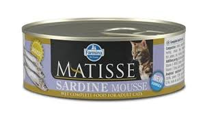 <b>Консервы Farmina Matisse</b> Cat Mousse <b>Sardine</b>, 85 г для котов