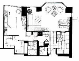 chicago place 100 e huron river north condo information Catherine House Model Floor Plan 100 e huron floorplan 3 Bedroom House Floor Plans