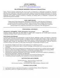 Client Relations Manager Resume Sample Example Templates Pleasing