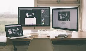 laptop and desktop computers
