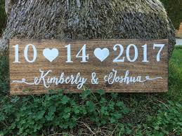save the date photoshoot wooden wedding sign rustic save the date sign