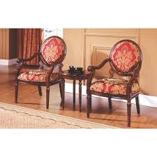 Living Room Arm Chair Astoria Grand Ambassador 3 Pieces Living Room Arm Chair Set