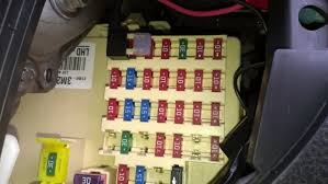 drivers side fuse box i used a piggyback fusetap to accomplish the connection out altering any vehicle wiring