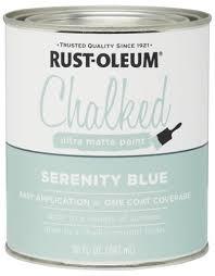 Rust Oleum Chalk Paint 30 Oz At Menards