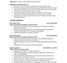 Strikingntory Clerk Resume Warehouse Job Description For Rater Data