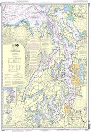 Noaa Chart 18440 Puget Sound
