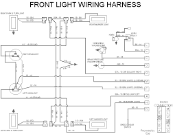 technical information front light wiring harness diagram 19kb