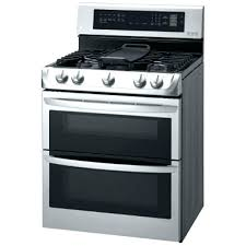 double oven electric range reviews cookers ft gas dual kitchenaid convection two stove dual oven electric