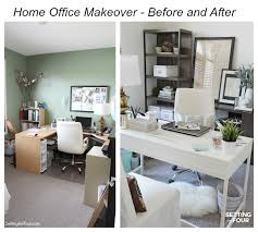 office makeover ideas. home office makeovers makeover before and after setting for four ideas d