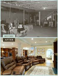 Home Basement Designs Classy Get Inspiring Ideas From Basement Remodel Before And After Sarah
