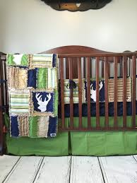 Woodland Baby Crib Bedding for Boys - Hunting Crib Set - Navy ... & Woodland Baby Crib Bedding for Boys - Hunting Crib Set - Navy, Green, – Adamdwight.com