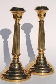 vintage tablescapes candle holders & centerpieces