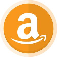 Amazon, amazon logo, buy online, online store, sell online icon