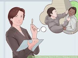 how to write an essay about the effects of bullying at university image titled avoid paying injury compensation step 7