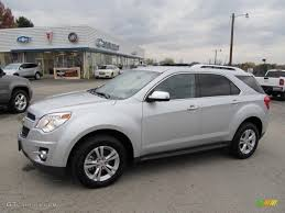 2010 Silver Ice Metallic Chevrolet Equinox LTZ AWD #38917926 ...