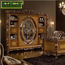 antique bookcase with glass doors 1388