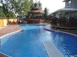 fiberglass inground pool steps