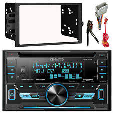 chevy s10 radio dpx302u double din usb cd car radio player install mount kit wire harness antenn fits