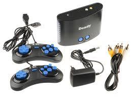 Купить <b>Игровая приставка Dendy</b> 255 встроенных игр черный по ...