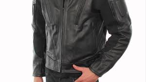 b9119 xelement men s armored padded motorcycle jacket at leatherup com you