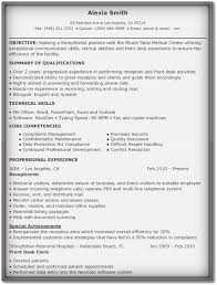 Reception Resume 5 Professional Receptionist Resume Samples Word Pdf Examples