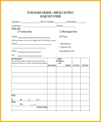 Local Purchase Order Form Purchase Order Template Excel Format