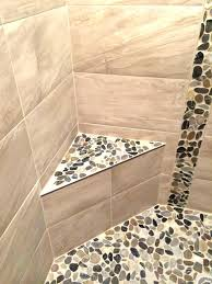 stone shower bench tile shower seat stone shower bench river stone and ceramic tile shower stall stone shower bench