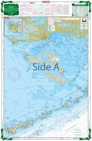 Noaa Chart 11452 Florida Bay Large Print Navigation Chart 33e