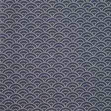 Sashiko Patterns Enchanting Blue Japanese Cotton Fabric Seigaiha Sashiko Patterns Made In Japan
