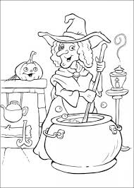 Halloween Coloring Pages Witches Hallowen Coloring Pages Of