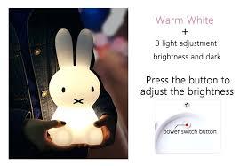 full size of rabbit table lamp asda bunny lamps gold modern led night light for children