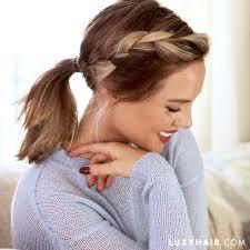 Cute Hairstyles For Short Hair And Medium Length Hair Luxy Hair