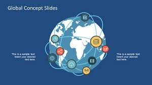 Global Network Concept Powerpoint Templates