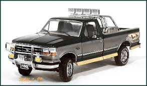 Franklin Mint 1:24 1996 Ford F-150 XLT 4X4 Pickup- Ultimate ...