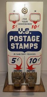 Stamp Vending Machine Location Interesting 48s Vintage US Postage Stamp Vending Machine Pinterest