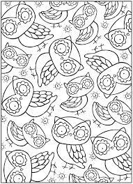 Printable Owl Coloring Pages Printable Owl Coloring Pages Printable