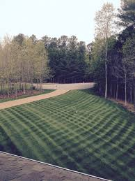 Mowing Patterns Extraordinary Alternate Mowing Patterns To Reduce Soil Compaction Virginia Green