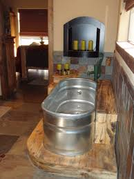 Country Bathroom Faucets Feed Trough Bathtub With Old Hand Pump Faucet I Still Love It