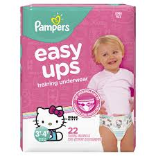 Get Quotations · Pampers Easy Ups Pull On Disposable Training Diaper for Girls, Size 5 (3T- Cheap Sale, find Sale deals on line at