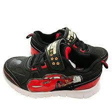 Cars Light Up Shoes Disney Cars Lightning Mcqueen Light Up Shoes Black Red White 7