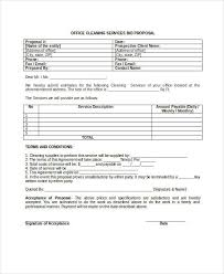 Cleaning Proposal Letter Interesting Commercial Cleaning Proposal For Template Sokobanjs
