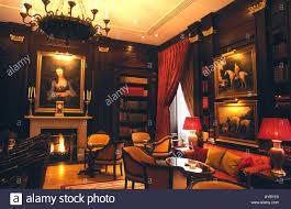Living Room Bar London Library Room Bar Lanesborough Hotel Stock Photos Library Room