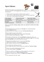Idioms Worksheets For Middle School - Checks Worksheet