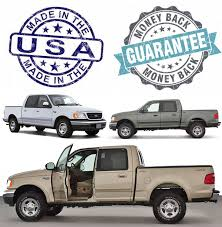 2001 2002 ford f 150 lariat super crew leather seat covers driver complete tan