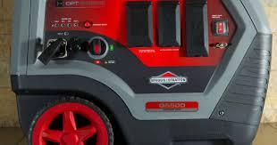 Briggs launches quieter, powerful portable generator