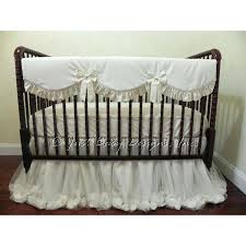 cream crib bedding